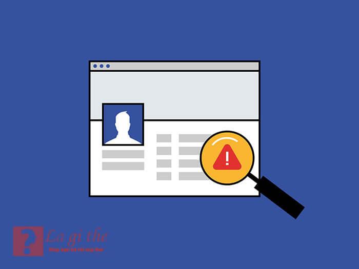 Report trên facebook