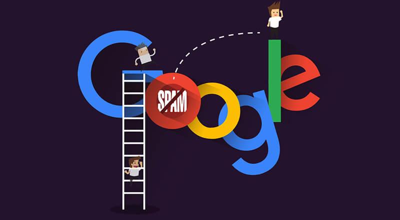 spam link theo quy định google
