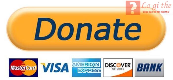 Hình thức donate qua tài khoản