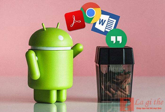 Root android có thể xóa các ứng dụng trên điện thoại