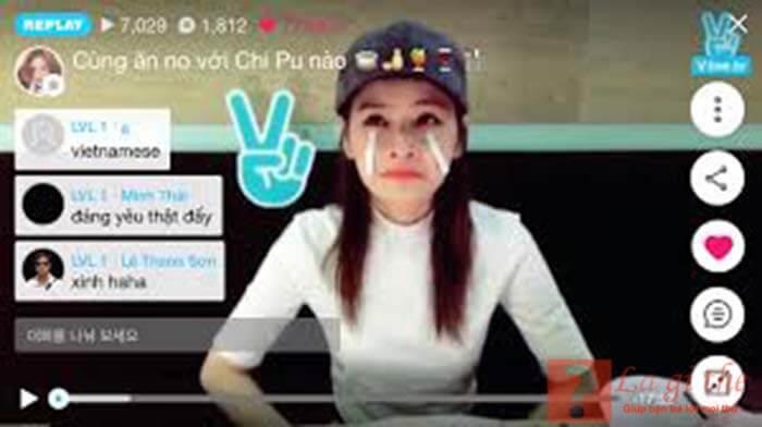 Ứng dụng V-live