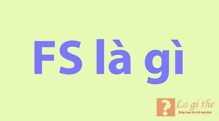 Khái niệm f.s