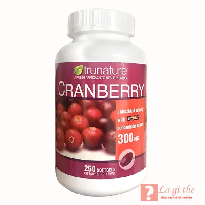 Thuốc từ cranberry