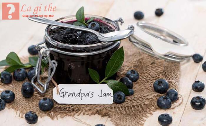 Mứt blueberry