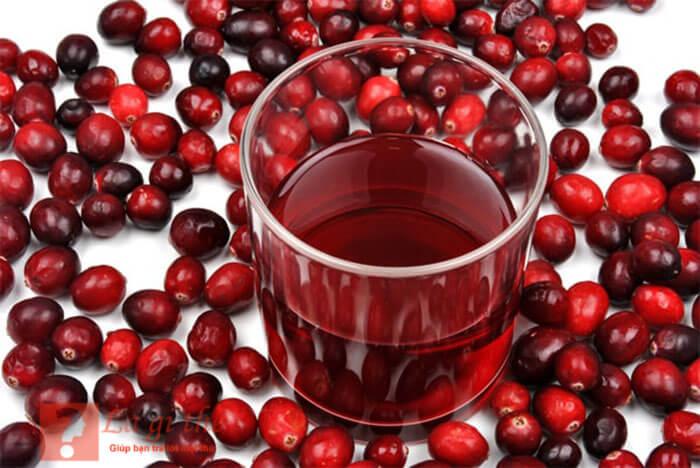 Nước ép cranberry