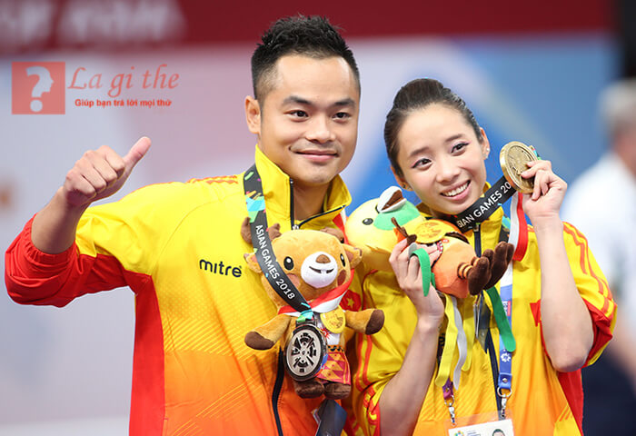 Vận động viên tham gia asiad