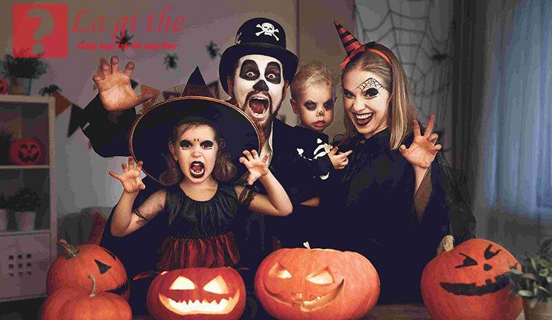 Halloween cũng được xem như là ngày đón năm mới