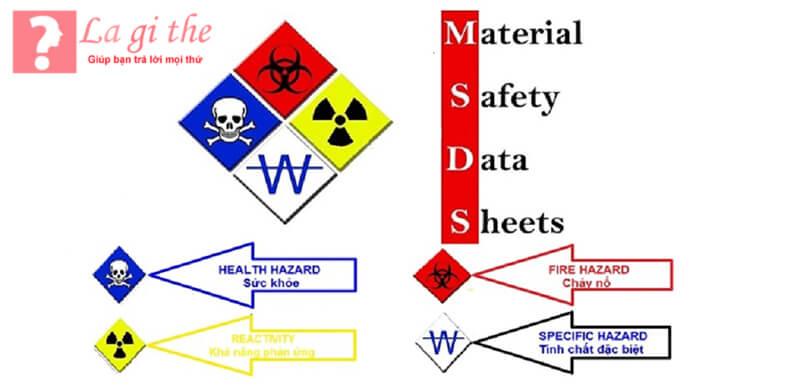 MSDS được xem là bảng hướng dẫn về các hóa chất nguy hiểm