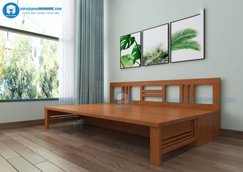 Sofa giường tiết kiệm diện tích, đảm bảo đủ tiện nghi