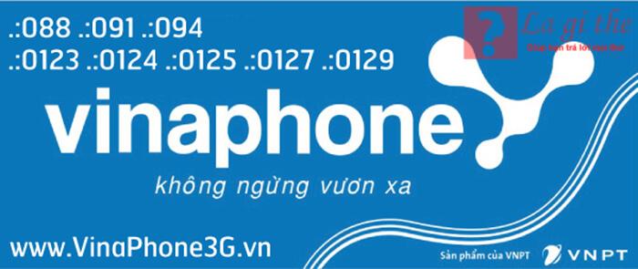 Các đầu số mạng vinaphone
