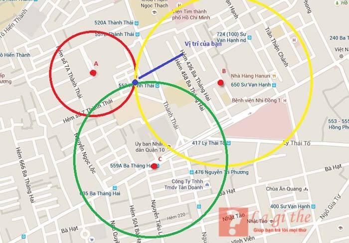 Diễn giải định vị GPS