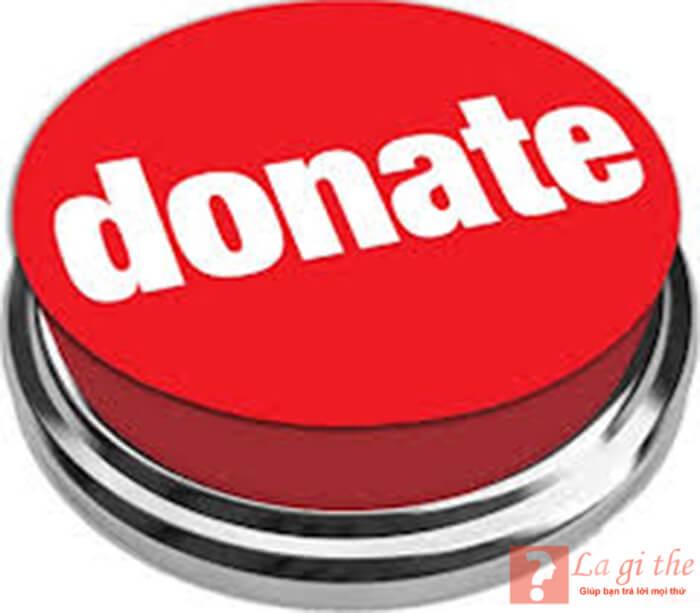 Nút Donate