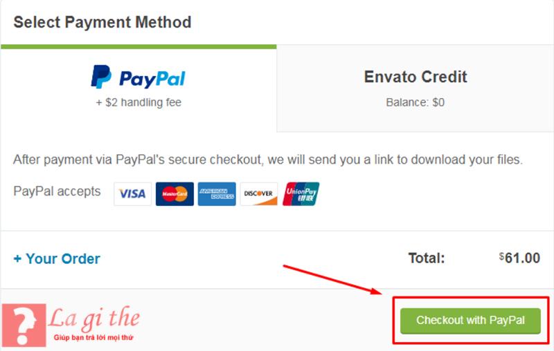 Hướng dẫn cách thanh toán paypal online