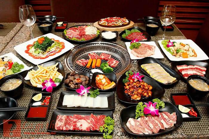 buffet nướng
