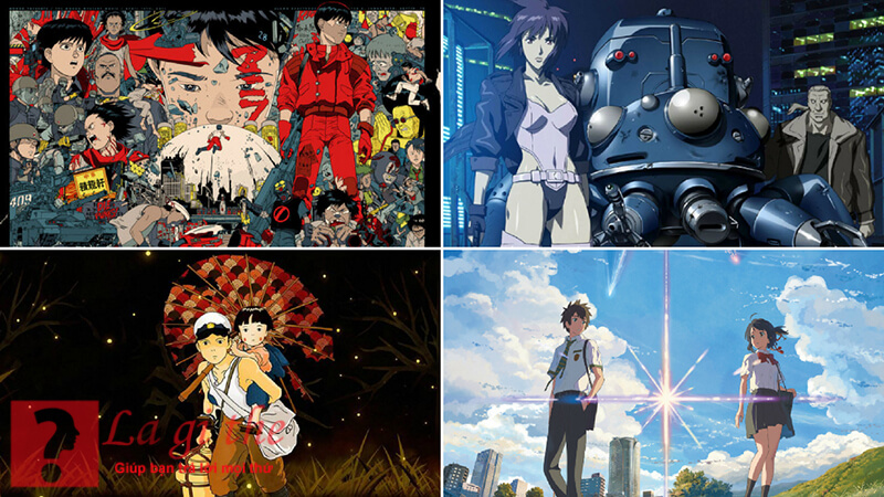 Anime có rất nhiều thể loại khác nhau
